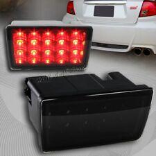 For 2011-2014 Subaru Impreza WRX STI Black F1 Style Red LED Rear 3rd Brake Light