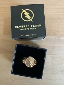 Reverse Flash Ring Size 12.5 Mint in Box from DC Collectibles TV Show