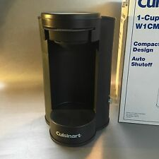 4 Avail New Cuisinart Coffee Maker W1CM5S 1-Cup Stainless Steel Brewer Uses Pods