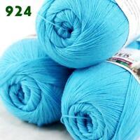 1ball 50g LACE Acrylic Wool Cashmere hand knitting Yarn Bramble berry 238-904