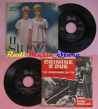 LP 45 7'' NINI ROSSO Il silenzio Via caracciolo 1964 italy SPRINT5544 *cd mc dvd
