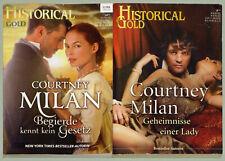 2 x HISTORICAL GOLD Liebesromane von Courtney Milan - Cora Verlag