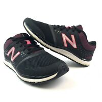New Balance 577 Cush WX577BP4 Womens Training Shoes Black/Purple Size 7