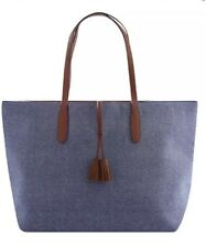 ULTA NWT Denim Large Tote Purse Handbag