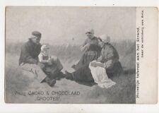 Einen Cacao & chocolaad grootes Niederlande Vintage Werbung Postkarte 404b