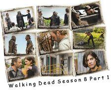 The Walking Dead Staffel 8 Part 1 - 90 Karte Basis / Basisset - Topps 2018