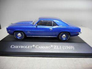 CHEVROLET CAMARO ZL1 1969 AMERICAN CARS ALTAYA IXO 1:43