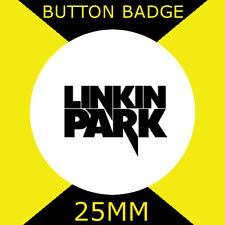 """LINKIN PARK - IMAGE LOGO -BUTTON BADGE 25MM/1"""" D PIN GREAT GIFT FOR FAN #CD34"""
