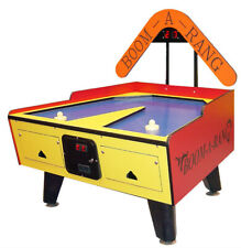 Great American Boom-A-Rang Yellow/Red Coin-Op Air Hockey