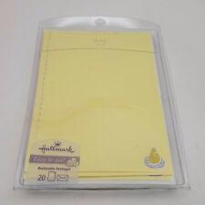 Hallmark Stationary 20 Designed Sheets & 20 Designed Envelopes