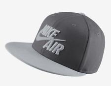 NIKE AIR TRUE FLAT BILL SNAPBACK HAT DARK GREY COOL GREY 805063-021