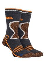 Storm Bloc - 2 Pack Mens Wool Durable Cushioned Thermal Work Wear Trekking Socks 6-8.5 UK Sbgms003ecr
