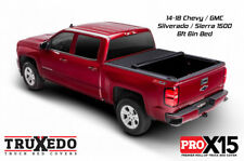 TruXedo Pro X15 Roll Up Tonneau Cover 14-18 Chevy Silverado 1500 6ft 6in Bed