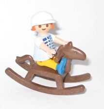 Playmobil® Puppenhaus Mädchen Kind SCHAUKELPFERD Kinderzimmer Villa