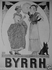 PUBLICITÉ 1931 BYRRH LA MODE DU BYRRH - ADVERTISING