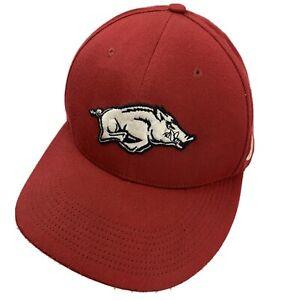 Arkansas Razorbacks Nike Ball Cap Hat Fitted L/XL Baseball