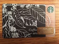 HTF Starbucks Coffea Arabica 2014 Gift Card Never Swiped NO $ VALUE