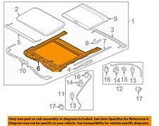 Genuine Hyundai 81623-3X000 Sunroof Seal Tape