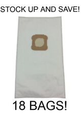 (18) Vacuum Bags for Kirby Ultimate G, Diamond Edition, HEPA Micron Cloth White