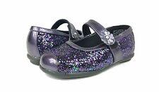 Rachel Shoes Toddler Girls' Siesta 2 - Purple Glitter 8 M US New