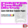 "FOREVER Flex-Soft No-Cut A&B Laser LED Heat Transfer Paper 8.5""x11"" 11""x17"" NEW"