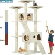 New listing Xl Cat Tree Scratcher Condo Big Tower Giant Castle Extra Large Tall Multi Indoor