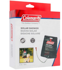 Coleman Solar Shower Hot Water Camp Portable Sun Powered Hose Rigg Rope Durable