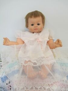 Adorable Lifesize Vintage Vinyl & Cloth Baby Doll