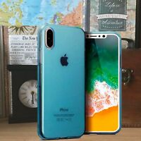 Apple iPhone 10 s  Composite Gel TPU Precision Fit Blue Case UE™ Urban Element