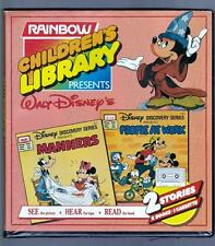 Walt Disney's Children's Library:  Book and Tape Set. RARE