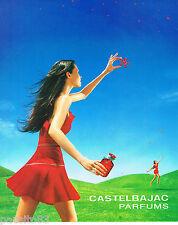 PUBLICITE ADVERTISING 065  2001  JEAN CHARLES DE CASTELBAJAC   parfums
