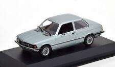 1:43 Minichamps BMW 323i E21 1975 silver-bluemetallic