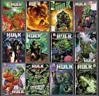 Immortal Hulk #50 12 Cover Variant Set Options Bartel Inhyuk 2021 Marvel