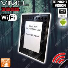 Wireless Security Camera Photo Frame IP Home Nanny Night Vision No SPY Hidden