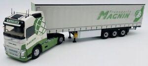 VOLVO FH4 500 4x2 et remorque Tautliner Transports MAGNIN,ELI116878, échelle1/43