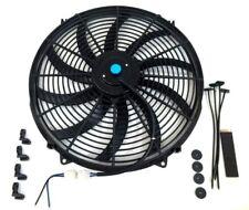 "16"" Electric Fan Curved Blades S Radiator Cooling Fan 3000 CFM Reversible 12V"