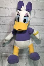 "DISNEY 13"" Daisy Duck Soft Plush Stuffed Toy Doll Donald Xmas Gift Idea"