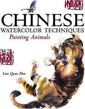 Chinese Watercolor Techniques - Painting Animals-ExLibrary