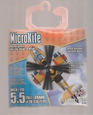 "MICROKITE APACHE HELICOPTER MINI MYLAR KITE 5.5"""