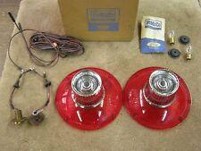 NOS OEM 1964 Ford Galaxie 500 Tail Light Lenses Backup Light Kit