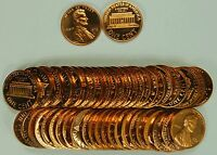 1976-S Lincoln Cent Roll Proof 50 US Coins