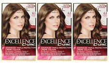 3 x L'OREAL EXCELLENCE CREME HAIR COLOUR 6.1 LIGHT ASH BROWN