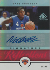 Nate Robinson 2005 UD Reflections autograph auto card SR-NR /100