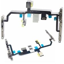 For iPhone 8 Plus Power Flex Cable Volume Buttons & Mute Switch With Brackets