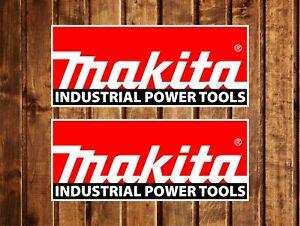Aufkleber Sticker  X2 Makita Tools