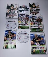 Madden NFL 10, Madden NFL 11 and NCAA 09 All Play Nintendo Wii