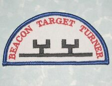 """Beacon Target Turner Patch - 3 1/2"""" x 1 3/4""""  - firearms training"""