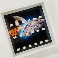 Display case Frame for Lego Star Wars minifigures no figures Falcon 27cm
