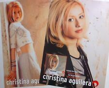 "Christina Aguilera ""Genie & What A Girl Wants"" 2-Sided Australia Promo Poster"