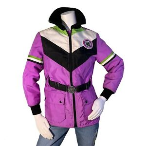 Vintage Artic Cat Jacket Snowmobile Winter Articwear Purple Size Small